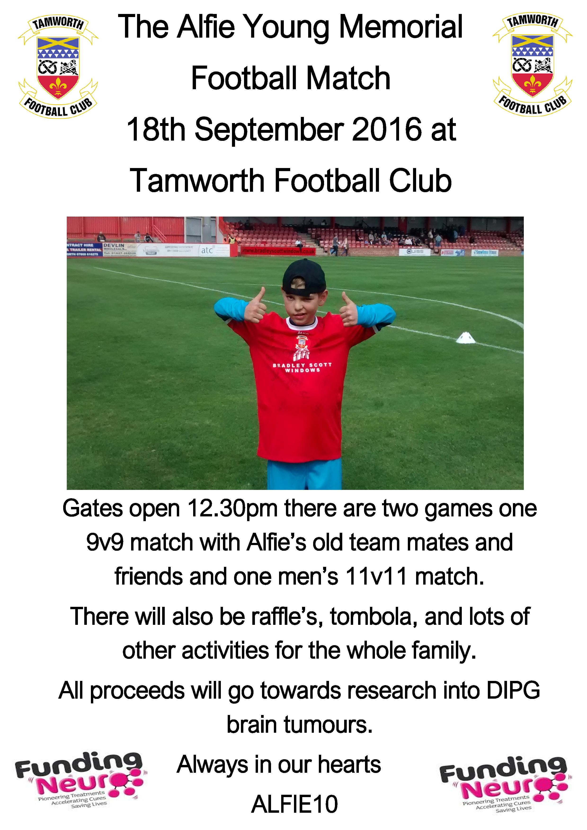 Alfie Young Memorial Match